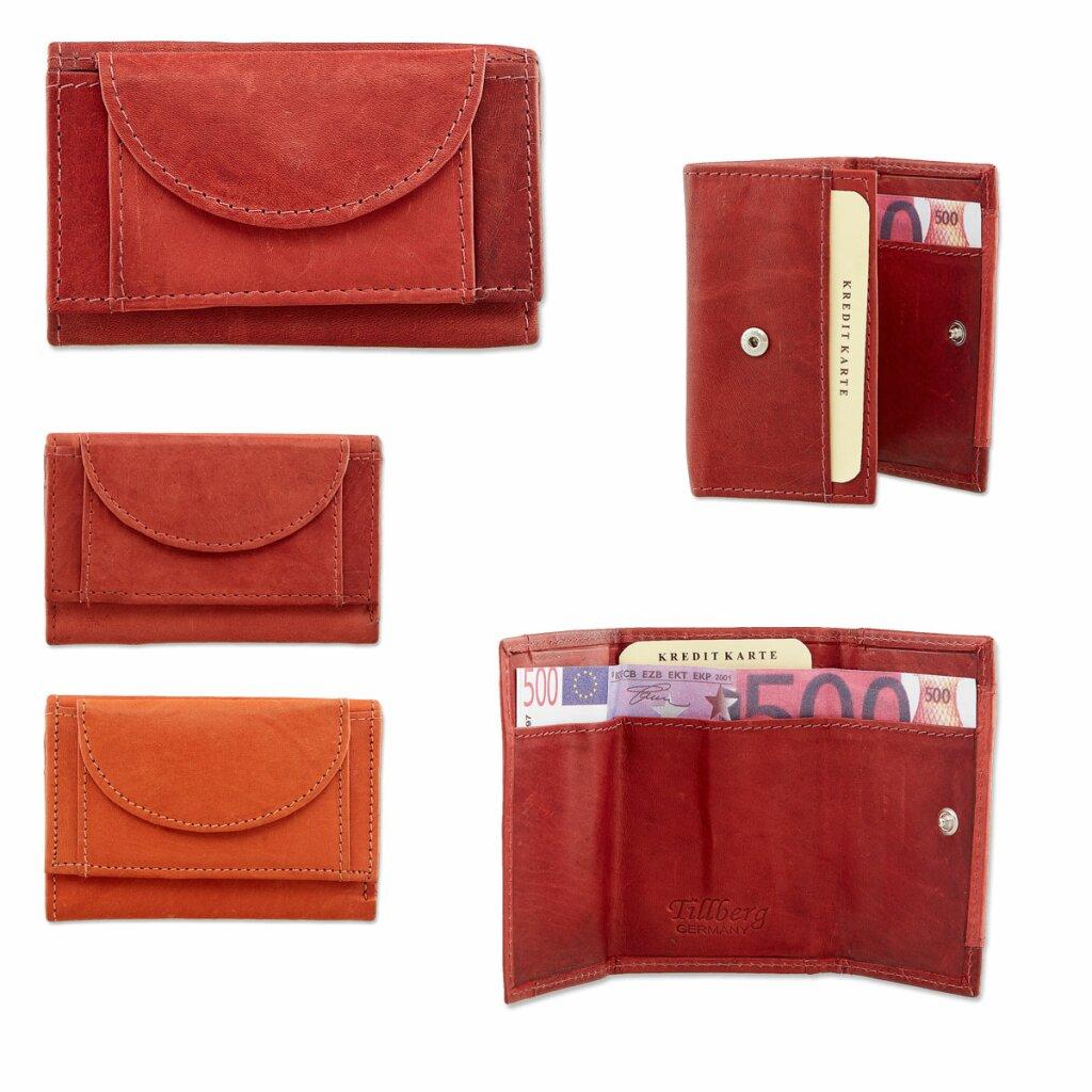 Wiener Schachtel Luxus Herren /& Damen Mini Geldbörse pflanzlich gegerbtes Leder